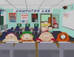 South Park computer lab