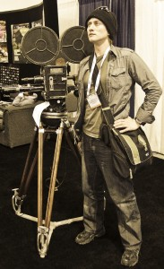 Keram Malicki-Sanchez at NAB 2009