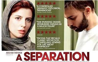 Iranian film - A Separation nominated for best foreign language film 2012